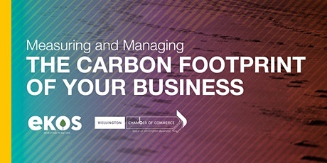 Measuring and Managing the Carbon Footprint of your Business tickets