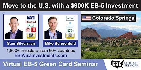 U.S. Green Card Virtual Seminar – Colorado Springs, US tickets