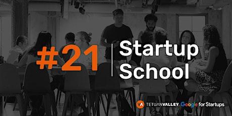 Tetuan Valley Startup School: Product development & UX tickets