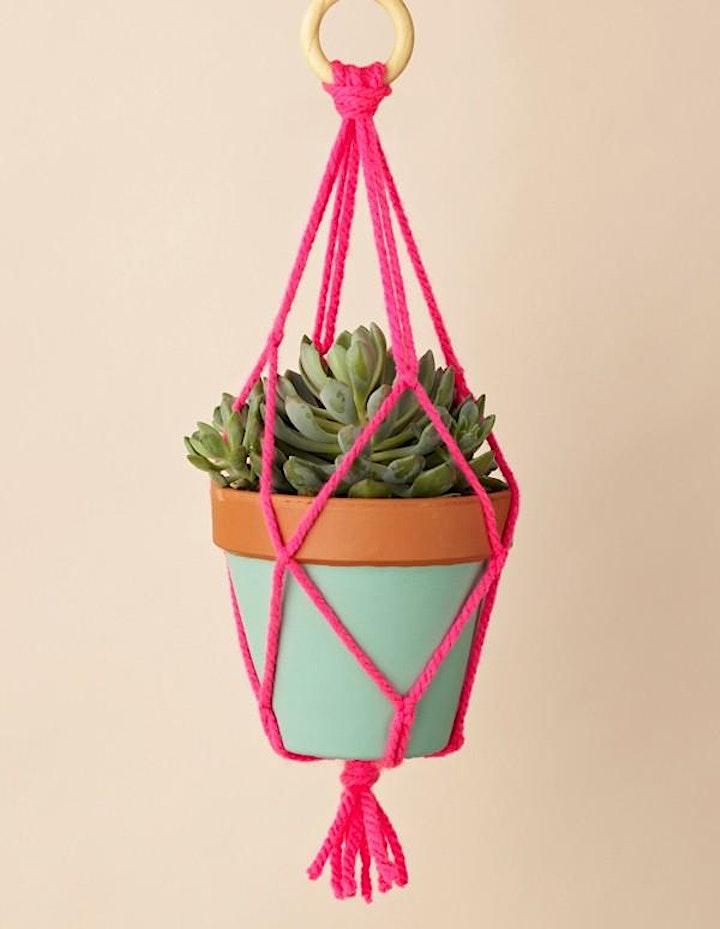 Macrame Pot Hangers image