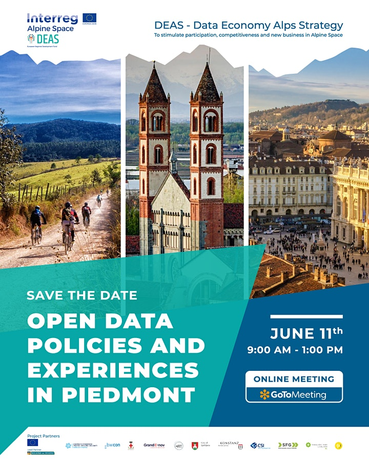 OPEN DATA: POLICIES AND EXPERIENCES IN PIEDMONT image