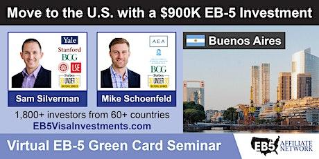 U.S. Green Card Virtual Seminar – Buenos Aires, Argentina entradas
