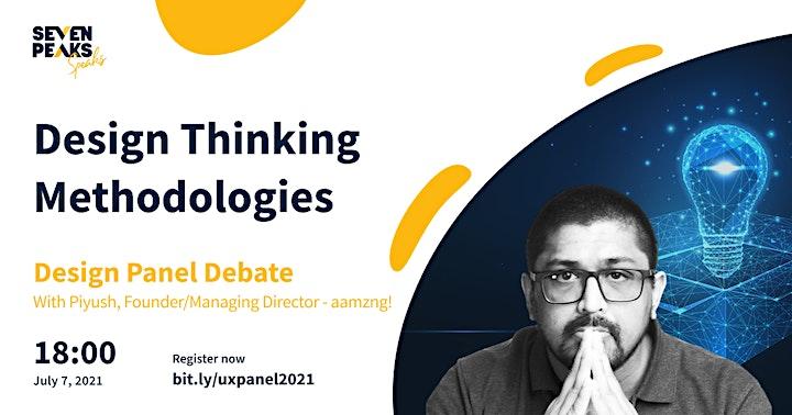 UX Panel: Design Thinking Methodologies image