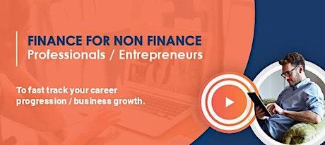 Finance For Non Finance Professionals/Entrepreneurs tickets
