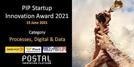 PIP Startup Innovation Award 2021 - processes, digital & data | 15 June tickets