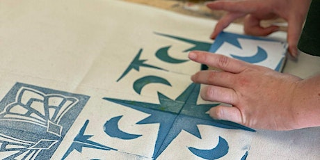 Block Printing - 1 Day Workshop - Table Runner tickets