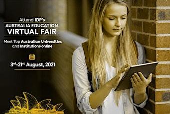 Attend IDP's Australia Education Fair Virtually in Kochi - 5th Aug 2021 tickets