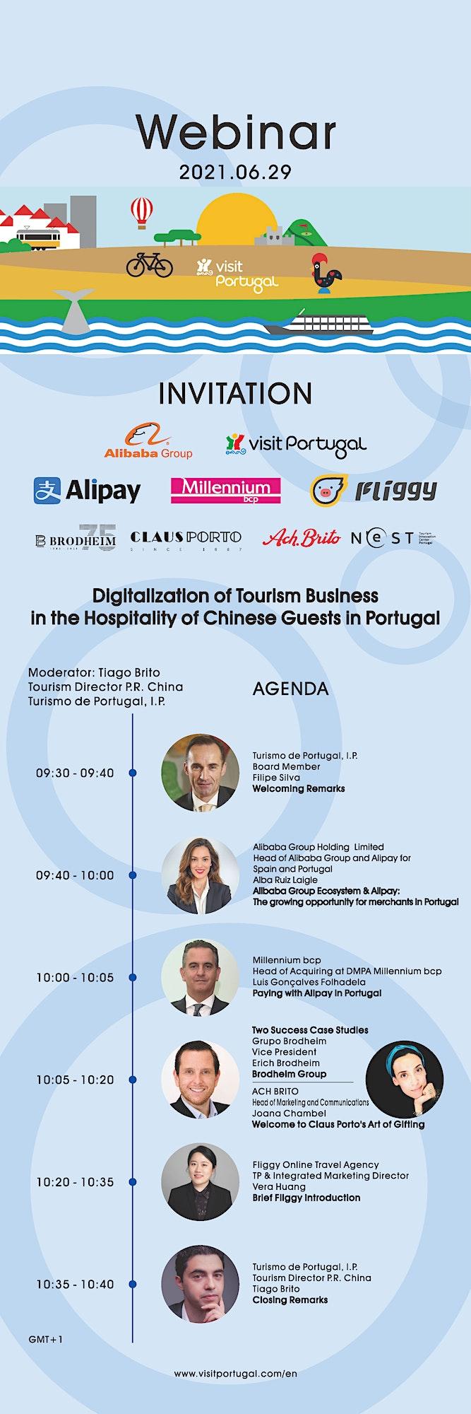 Visit Portugal & Alibaba Group - Digitalization of Tourism Business image