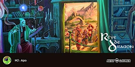 Rêve de Dragon - Initiation - La tour dans la forêt - par Apo billets