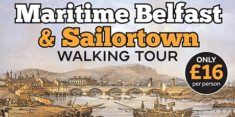 Our Place Walking Tour, Maritime Belfast  & Old Sailortown tickets