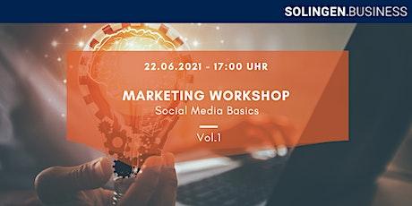 Marketing Workshop - Social Media Basics Vol.1 Tickets