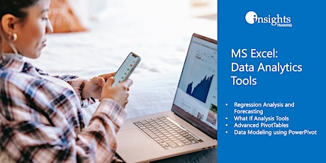 MS Excel: Data Analytics Tools tickets