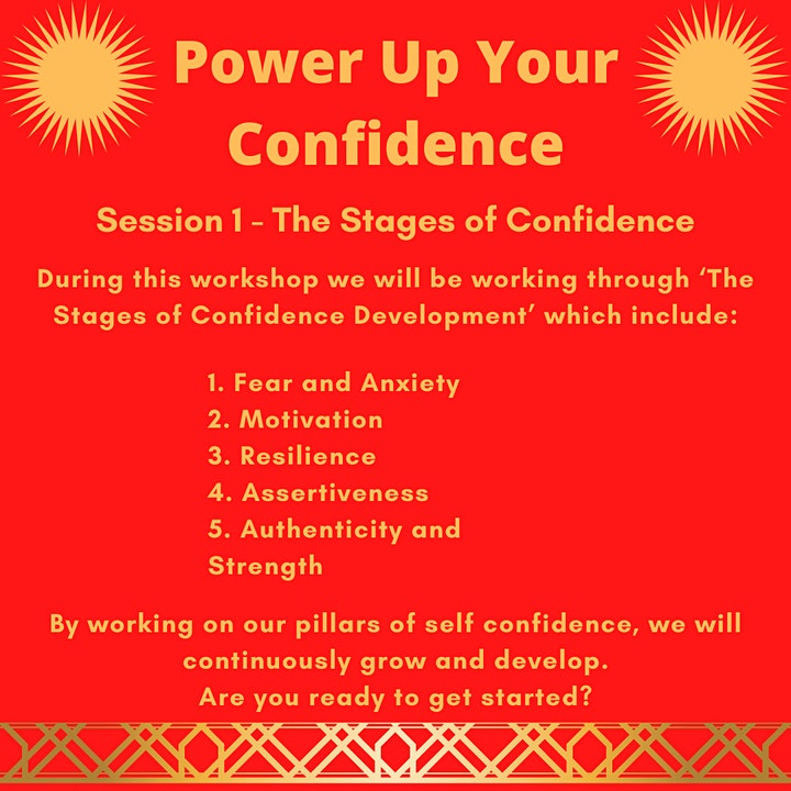 Power Up Your Confidence - go from surviving to thriving. image