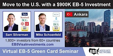 U.S. Green Card Virtual Seminar – Ankara, Turkey tickets