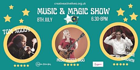 Music & Magic Social Variety Show! tickets