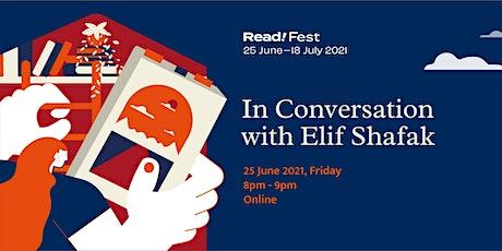 In Conversation with Elif Shafak | Read! Fest tickets