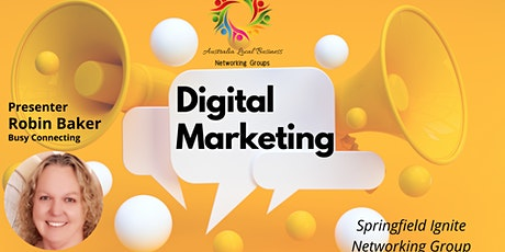 Digital Marketing at the Springfield Ignite Networking Group tickets