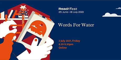 Words for Water | Read! Fest tickets
