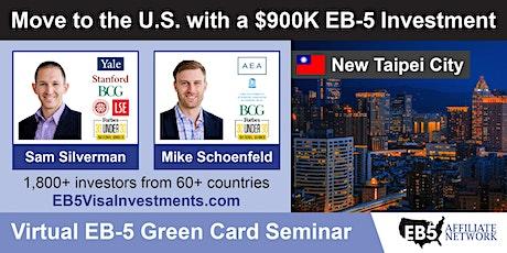 U.S. Green Card Virtual Seminar – New Taipei City, Taiwan tickets