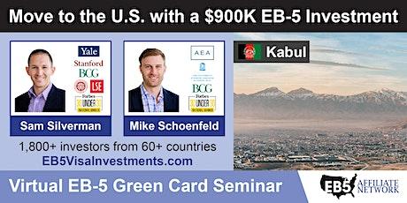 U.S. Green Card Virtual Seminar – Kabul, Afghanistan tickets
