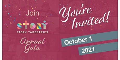 Story Tapestries Annual Gala - October 1, 2021 tickets