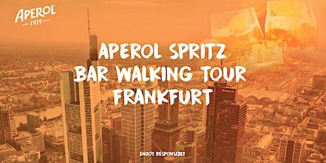 Aperol Spritz Bar Walking Tour Frankfurt 2021 billets