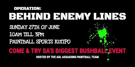 OPERATION:  BEHIND ENEMY LINES tickets