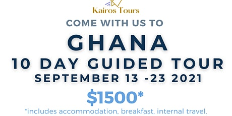 Come with us to Africa : Ghana Tour Information Meeting tickets