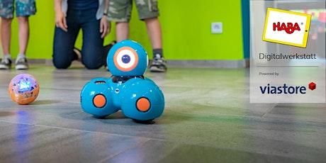 Roboter: Programmiere Dash mit Path Tickets
