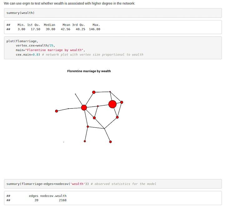 HNR2021 Workshop 2: Exponential Random Graph Models for Historical Networks image