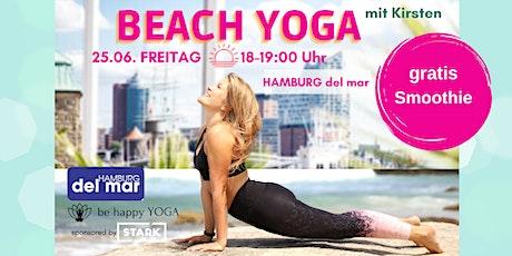 BEACH YOGA- HAMBURG del MAR & be happy YOGA Kirsten Tickets