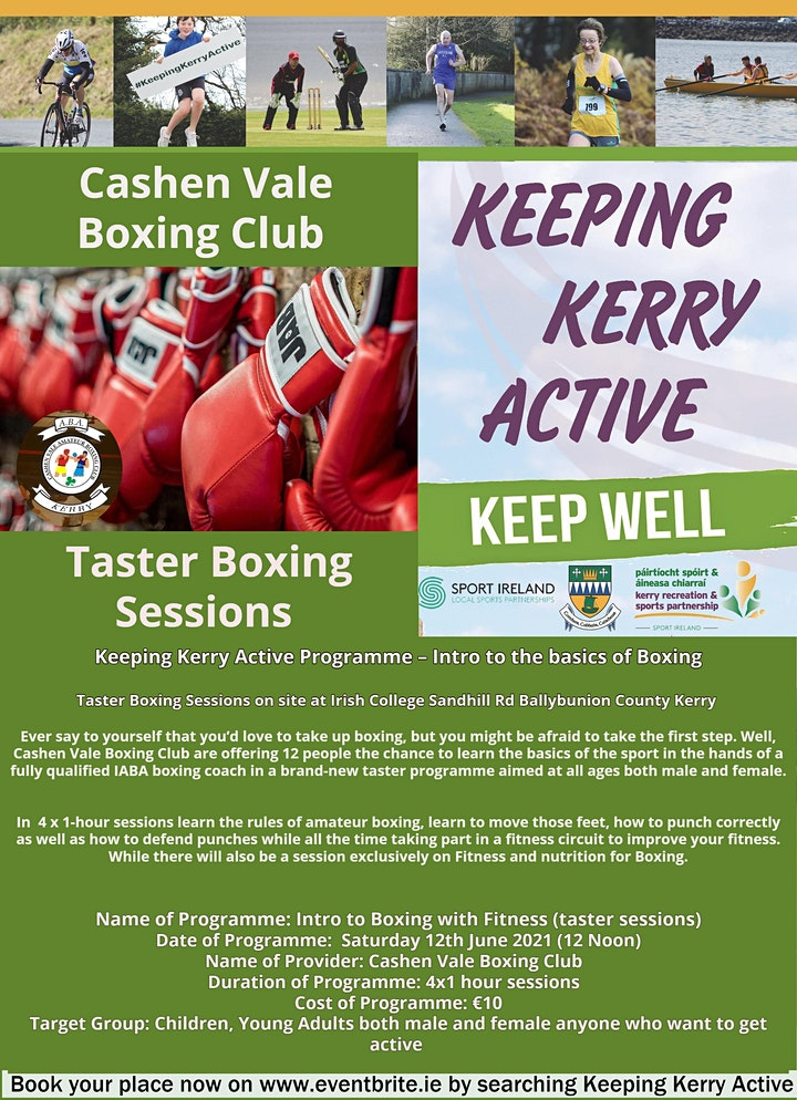 Keeping Kerry Active - Taster Boxing Sessions image