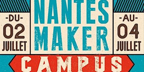 Nantes Maker Campus 2021 - Soirée de présentation #2 billets