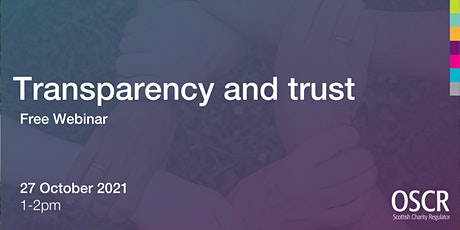 Transparency and Trust tickets