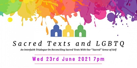 Sacred texts and LGBTQ - an interfaith trialogue tickets