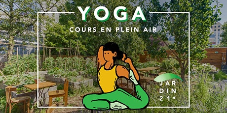 Cours de Yoga Clarelle x Jardin 21 tickets