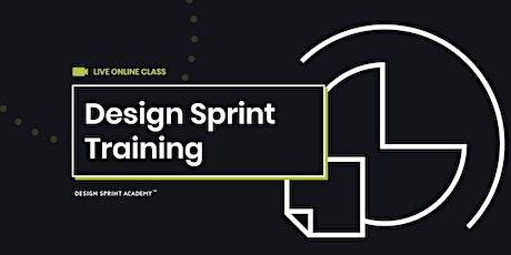 Design Sprint Training  - Live Online (AMERICAS) tickets