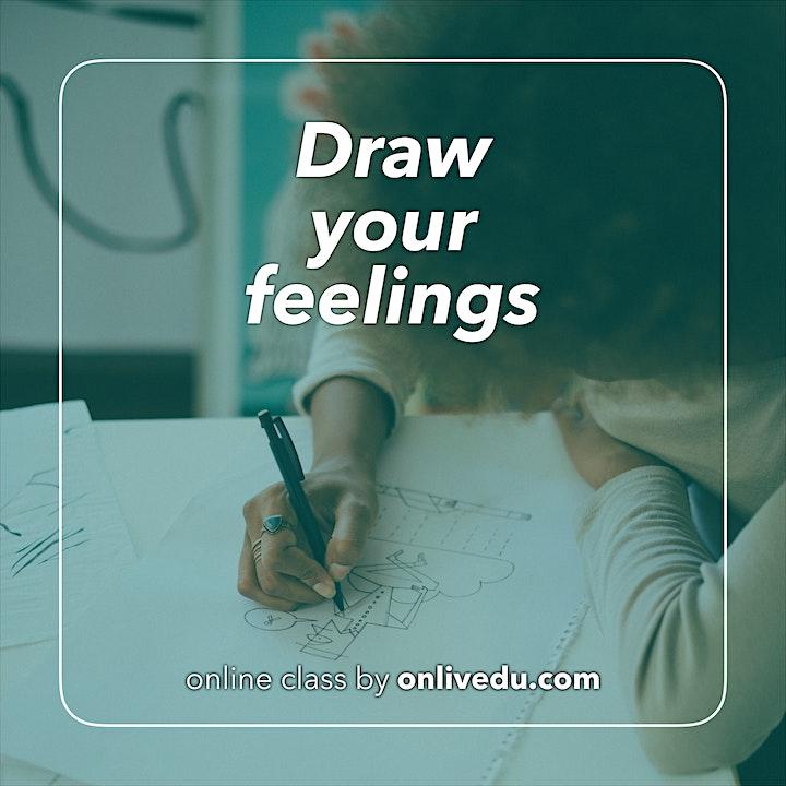 Immagine Draw your feelings / Disegna le tue emozioni