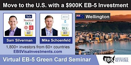 U.S. Green Card Virtual Seminar – Wellington, New Zealand tickets