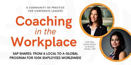 Coaching in the Workplace: Internal Coaching global program by SAP tickets