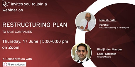 Using the Restructuring Plan to save businesses tickets