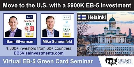 U.S. Green Card Virtual Seminar – Helsinki, Finland tickets