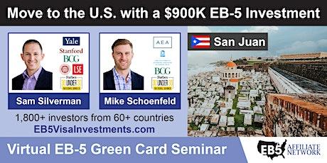 U.S. Green Card Virtual Seminar – San Juan, Puerto Rico tickets