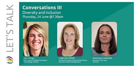 Let's Talk Conversations (Diversity and Inclusion) tickets
