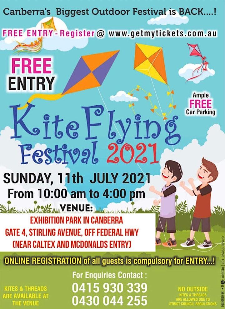 Kite Flying Festival Canberra on Sunday 11 July 2021 @ EPIC Exhibition Park image