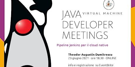 Pipeline Jenkins per il cloud native biglietti