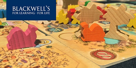 Blackwell's Board Game Café - June tickets