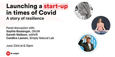 Panel Discussion - Launching a startup in Covid times tickets