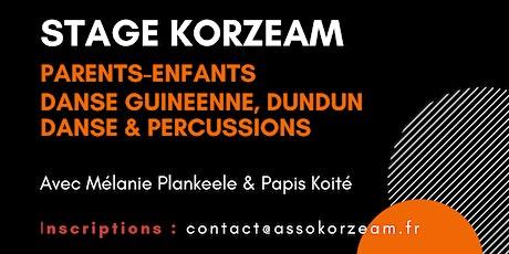 STAGE KORZEAM - Danse et Percussions d'Afrique billets