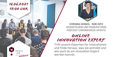 Media Lab Ansbach - Innovation Expert mit Korinna Hennig Tickets